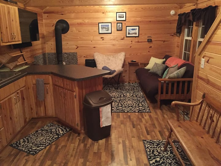Mountainside Cabin 31 Acres! Finnish Sauna, Views!