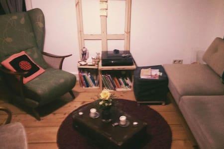 Bequemes Sofa im Heusteigviertel - Appartement