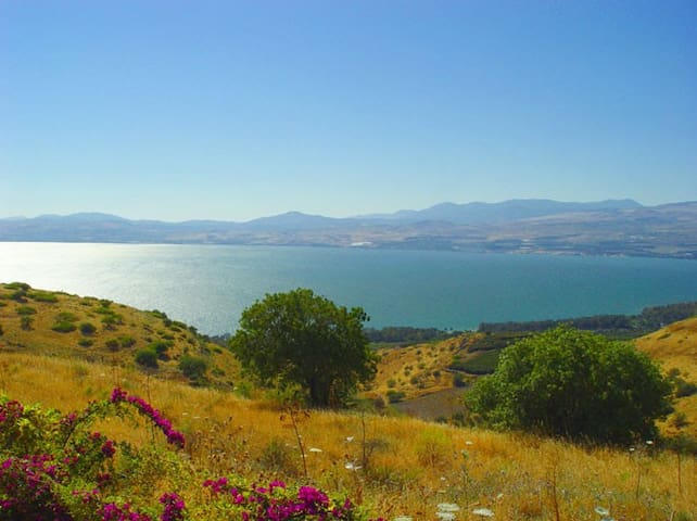 Country Style House Above the Sea Of Galilee