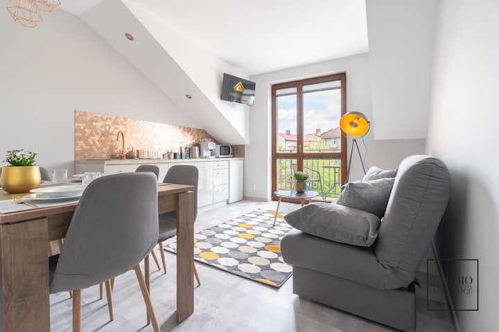 Apartament Złoty w Wadowicach by Apart Service