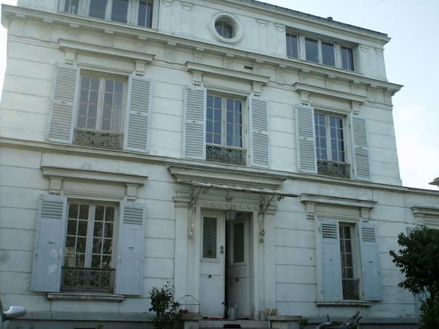 Paris maison jardin bords Seine vacances idéales! - Villeneuve-la-Garenne - House