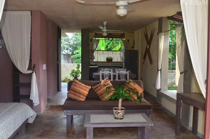 Tau Kie  Sayulita 1 - MONTHLY  RENTAL (STUDIO)