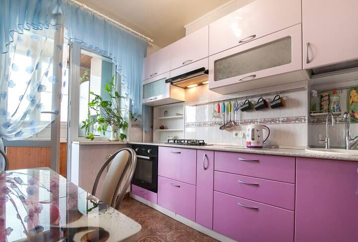 Delux Apartament (ТЦ Волгамолл,Отчетн.докум,Wi-Fi)