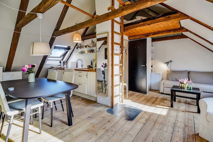 Single room roof-top near DTU and CPH