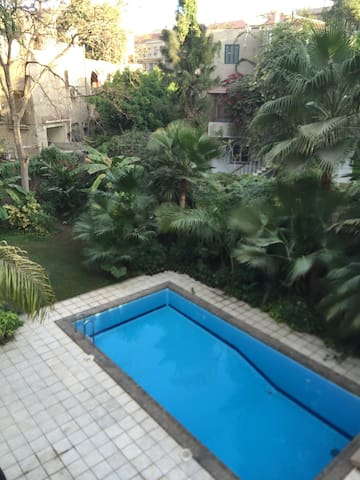 Villa in a residential area, pool - Maadi  - House