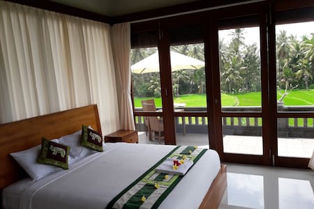 Fancy room in the ricefield 3 - Ubud