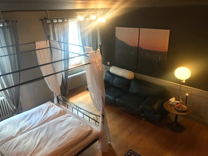 Suite mit Wellnessbad/Sauna, Freiberge/Jura