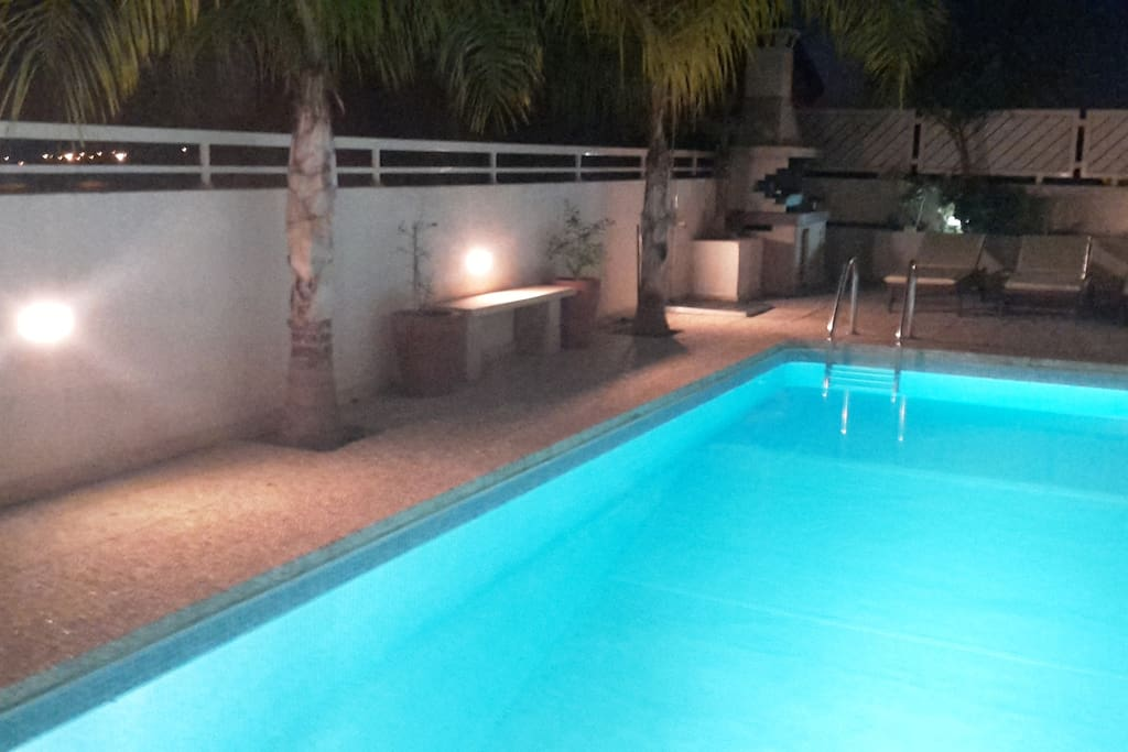 Your pool at Night....