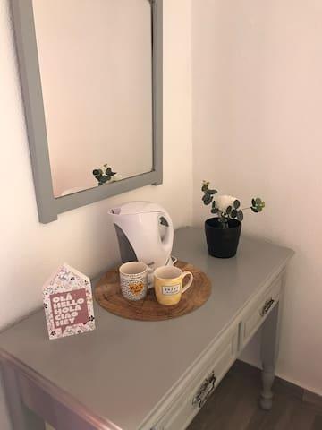 Quarto familiar com wc privativa - Alvor Suites