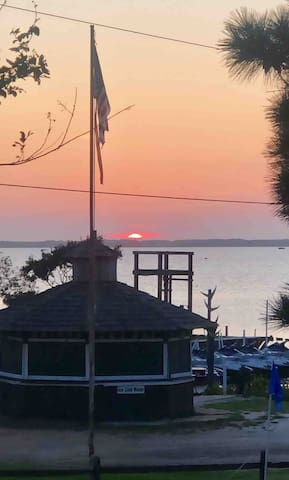 Sunset views from your deck