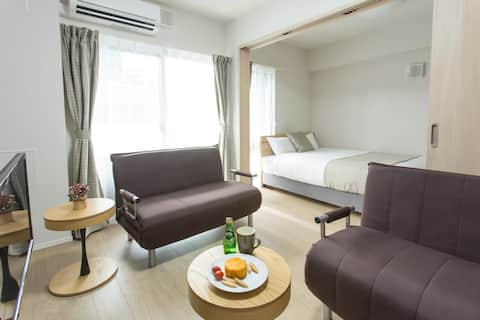 NEW! 1 stop from Osaka sta. Perfect stay in Osaka