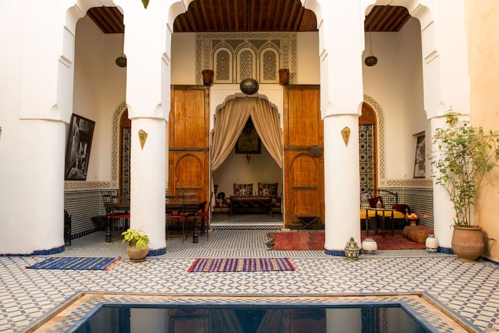 Double Room  - with plunge pool - Fès - Bed & Breakfast