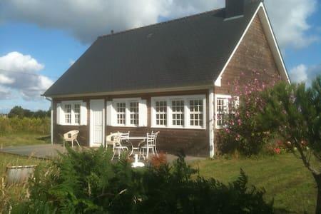 Maison bois à 2km des plages - Maison