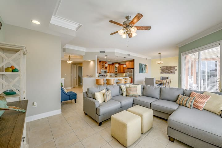 Spacious living area for gathering