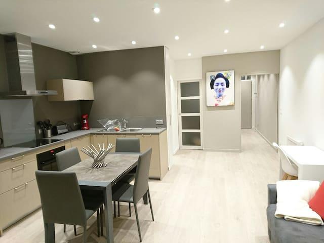 Appartement T2 rénové centre ville - Aix-les-Bains - Daire