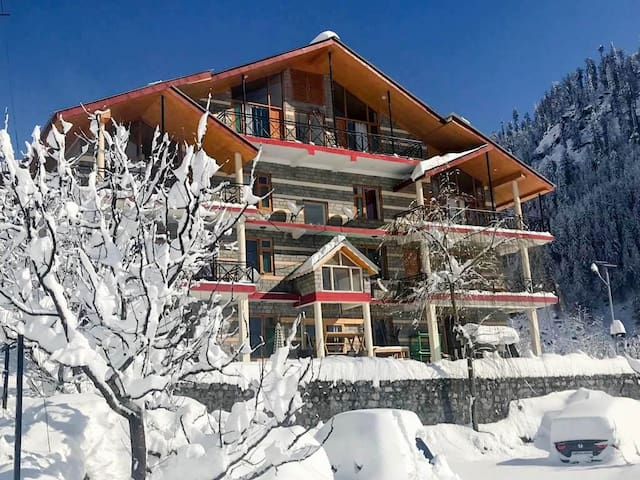 Best Himalayan Snow View - Large Famiy Room☆4 Beds