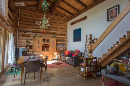 Romantisches Bijou in umgebautem Stall - Klosters Dorf