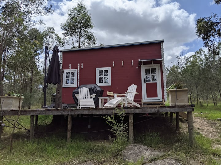 The Wollombi Tiny House: Eco escape in the bush.