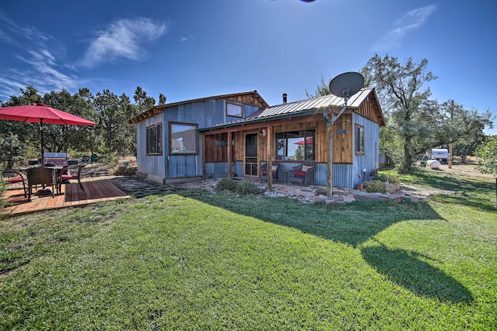 Idyllic Dolores Cabin w/ Fire Pit & Lake Views!