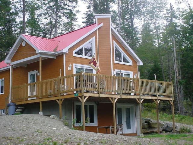 Nice home with Rangeley Lake access in the summer