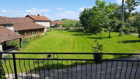 Joli duplex proche Figeac limite Aveyron et Cantal