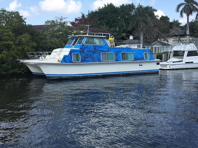 Houseboat in Delray Beach - Delray Beach - Båt