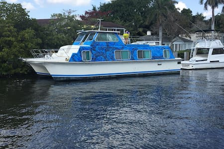 Houseboat in Delray Beach - Delray Beach - Boat