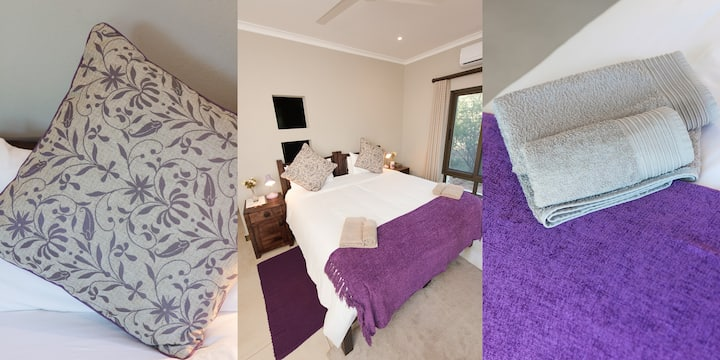 Double Twin Room with Deck, Nyaleti Lodge 310