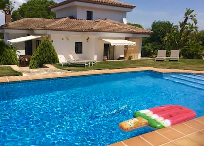 Villa Pinos Malaga with private pool, garden, BBQ