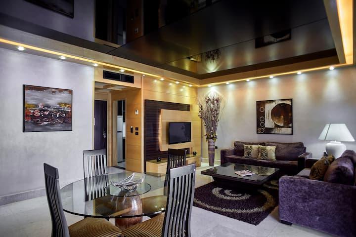 2Bedroom Suite facing ABC Mall, Verdun&Dunes-LV
