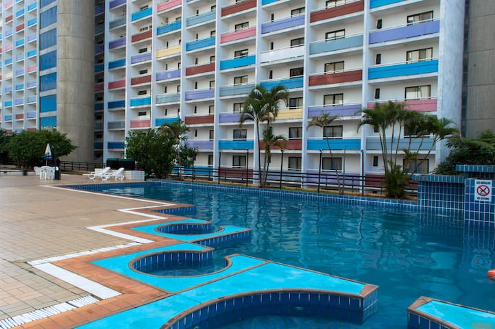 Spacious Hotel Flat (Downtown) - Brasilia - Byt