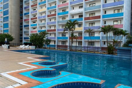 Flat Espaçoso em Hotel (Centro) - Brasília - Apartamento