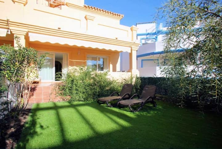 House with 3 bedrooms in Buenas Noches, with wonderful sea view, shared pool, enclosed garden - 400 m from the beach