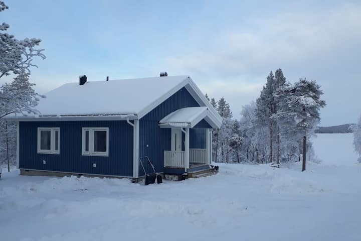 House on INARI LAKE