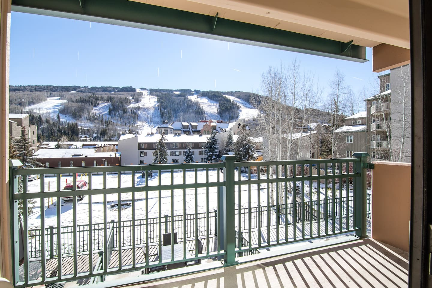 Welcome to Vail! Your rental is professionally managed by TurnKey Vacation Rentals. Mountain views from the private balcony