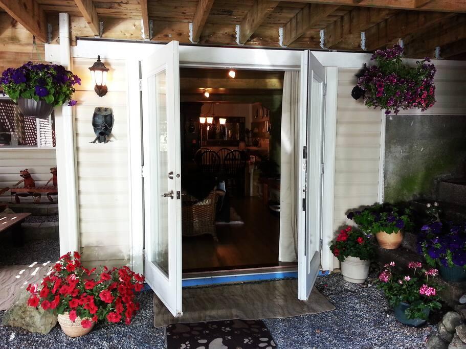 Suite entrance