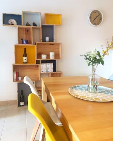 Bel appartement moderne à 10 min du Centre Ville! - Toulouse - Leilighet