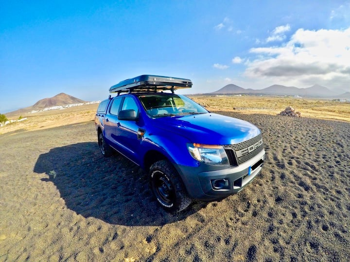 """BIG SHARK"" FORD RANGER 4X4 OFFROAD LANZAROTE"