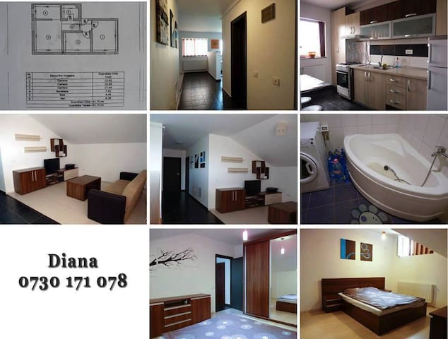 Renting one bedroom in Militari Residence