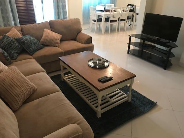 A luxurious apartment in Amwaj islands