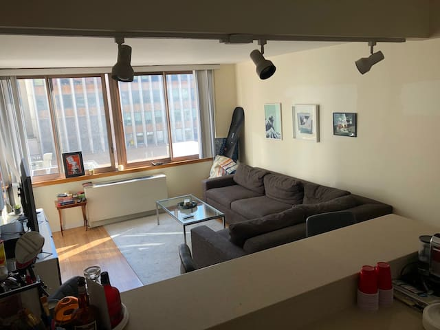Bright 1 br/door man building near Grand Central