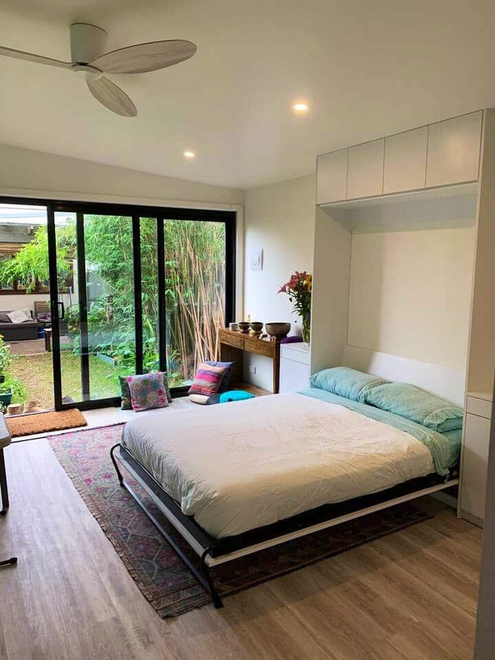 Gorgeous New Bamboo Garden Studio with yoga space