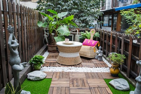 Little Far East Patio & Floor-heating | Xintiandi - Shanghái - Casa