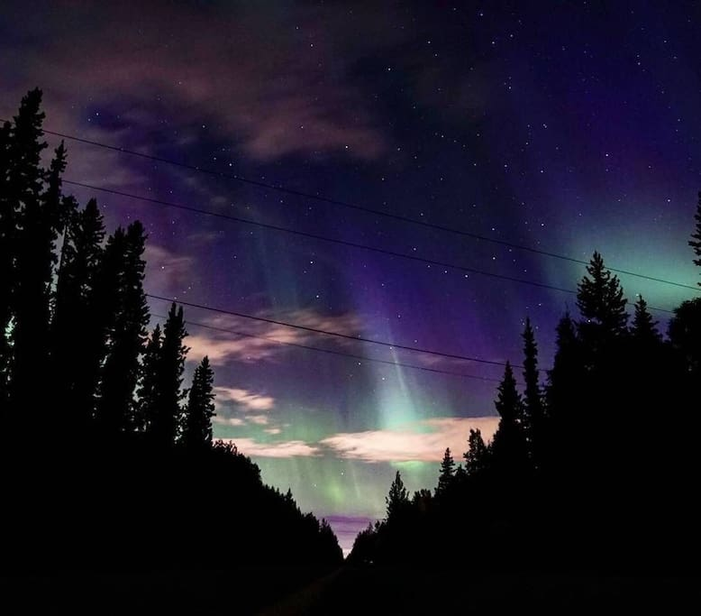 Breathtaking Northern Lights captured by a guest.