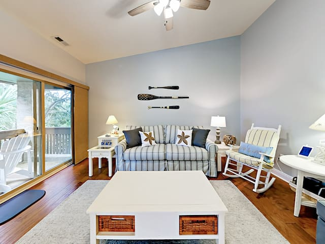 2BR Private Beach Villa at Sea Pines Plantation