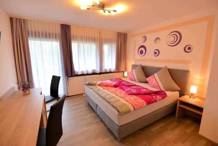 Hotel with balcony & mountain view |Fichtelgebirge