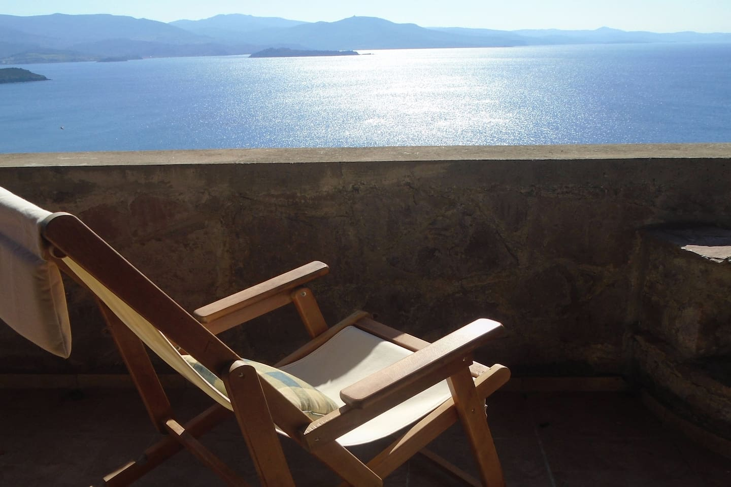 Relax and enjoy the panoramic views