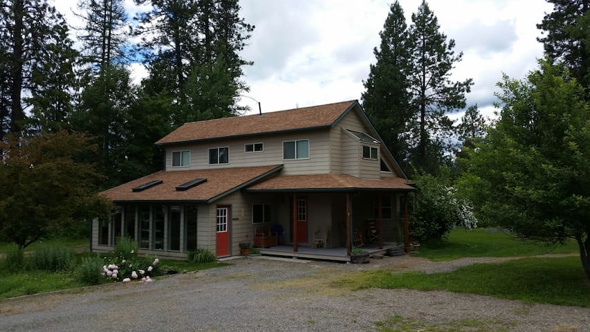 Passive solar farm house. - Sagle - Hus