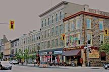 Historic downtown Galt (Cambridge)