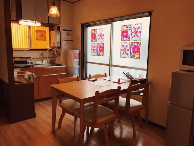 M1. Easy access to Shibuya! Room for max 4 people. - Meguro-ku - Appartement